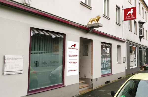 Löwen-Immobilienmakler - Unser Büro in der Dammstraße 41, Hildesheim
