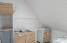 im Aufbau befindliche Küche