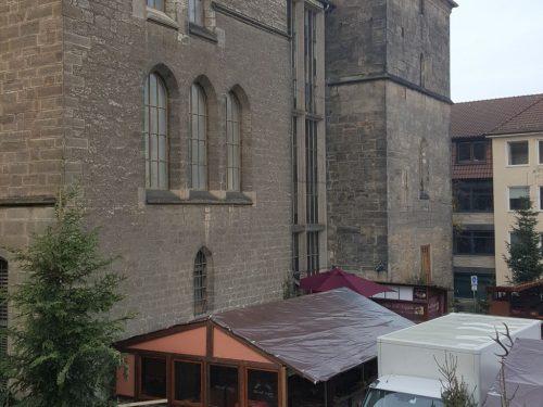 Ausblick auf das Rathaus