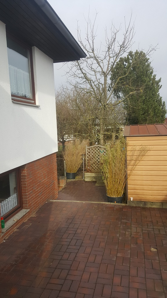 Terrasse für den Vormittag